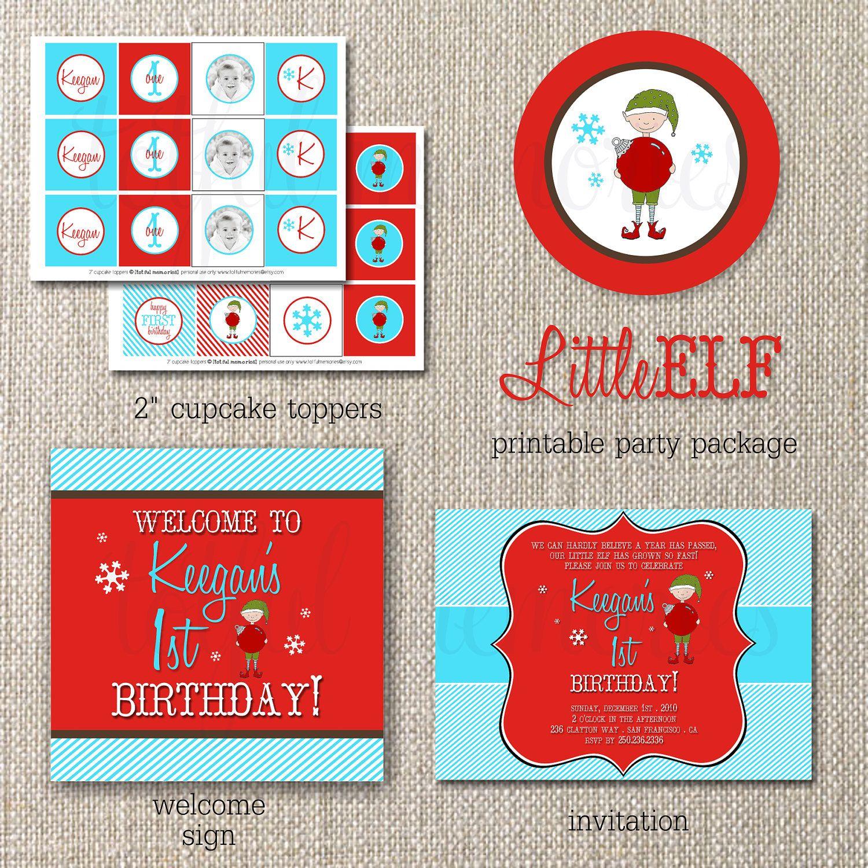 ELF birthday theme!!