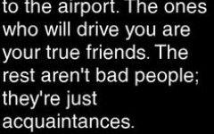 Quotes About Friends Vs Acquaintances | Short Quotes | Short