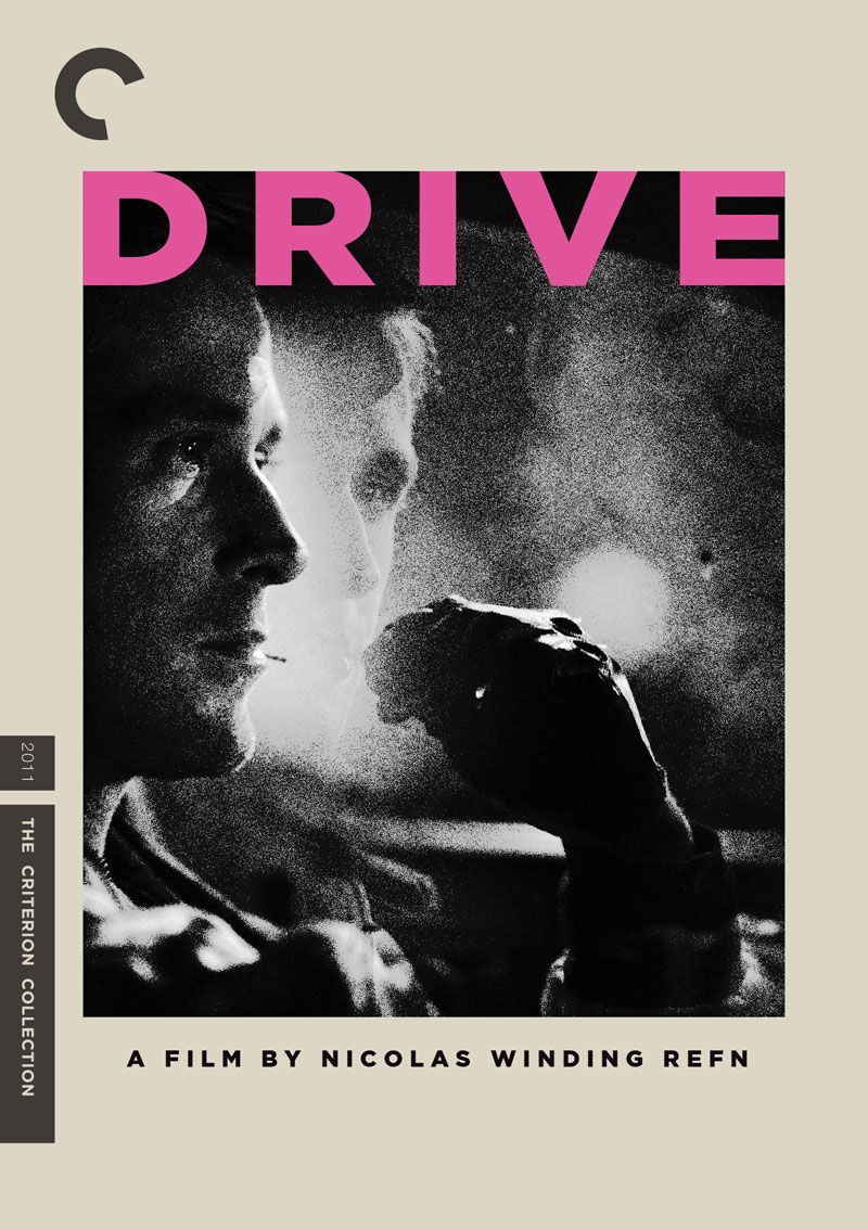 """Fake Criterion cover for """"Drive"""" Drive poster"""