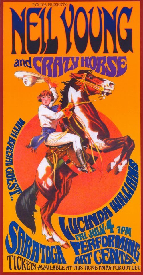 Neil Young and Crazy Horse 11x17 Music Poster   GIG posters