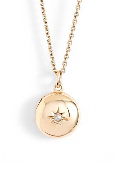Astley Clarke Astley Clarke 'Little Astley' Locket Pendant Necklace available at #Nordstrom