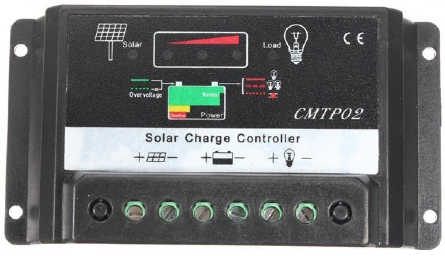 12V 24V 30A Solar Lighting Panel Battery Regulator Charge