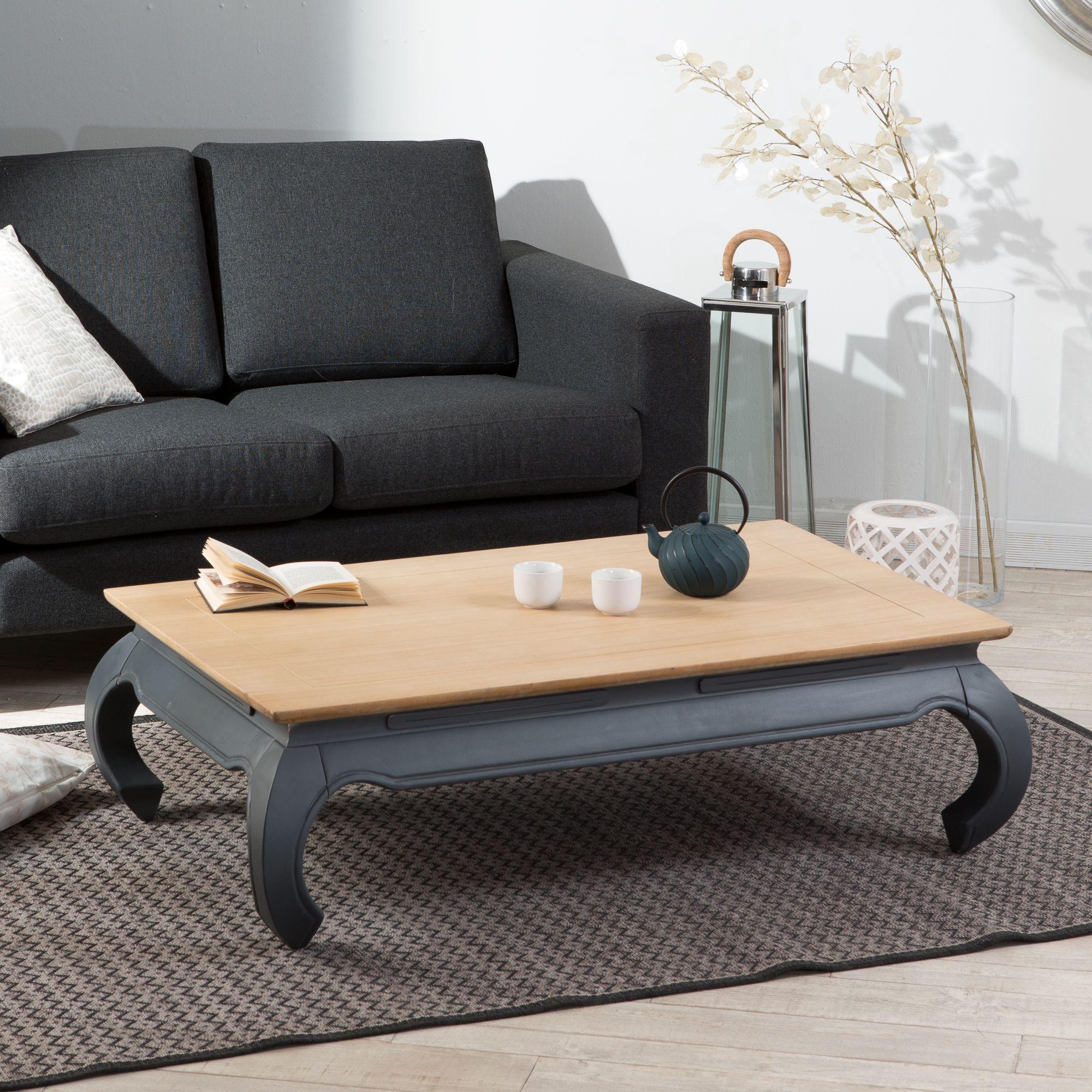 table basse rectangulaire opium en manguier massif colonia marque haveli republic au. Black Bedroom Furniture Sets. Home Design Ideas