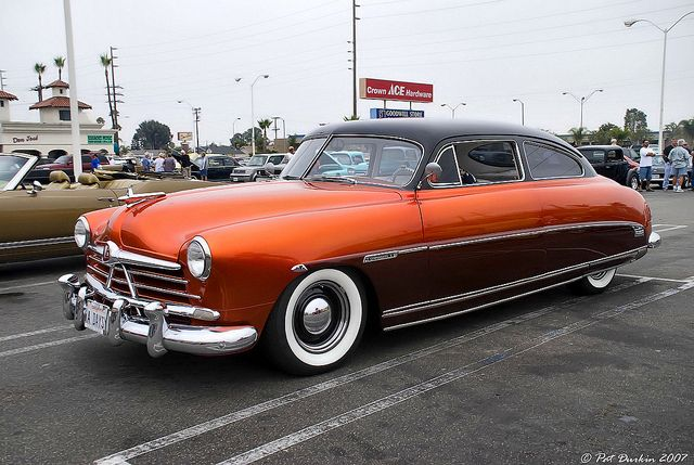 1950 Hudson Custom Commodore 8 Two-Door Brougham - side/front