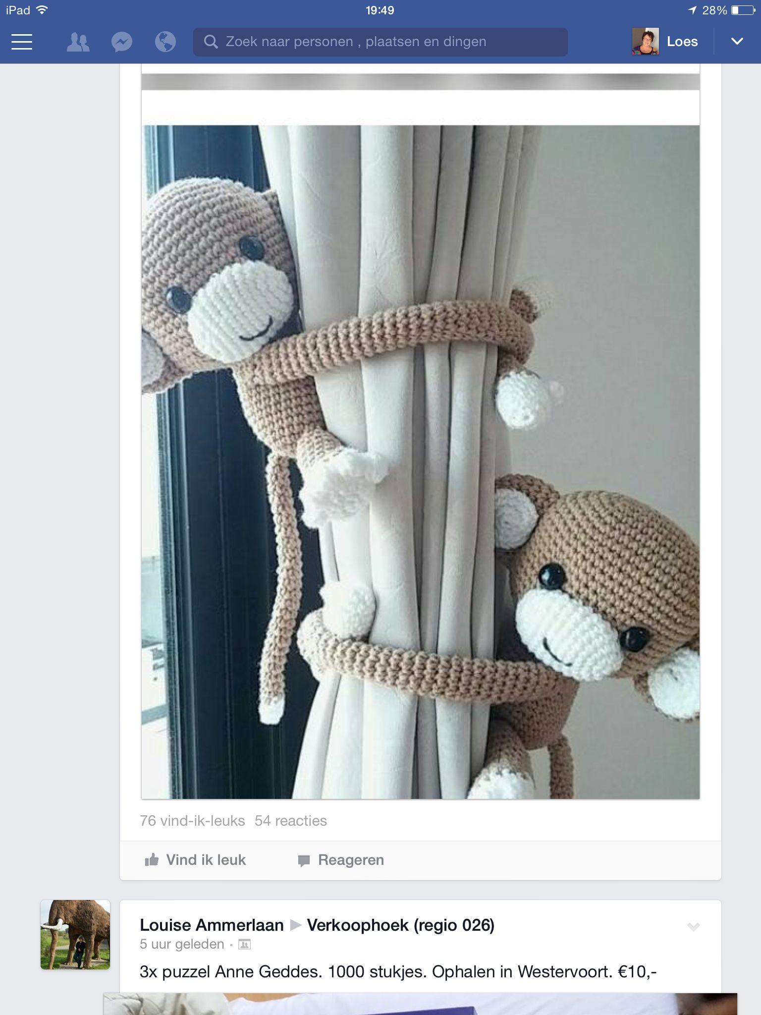 Aapje Haken Aapjes Nursery Baby En Crochet
