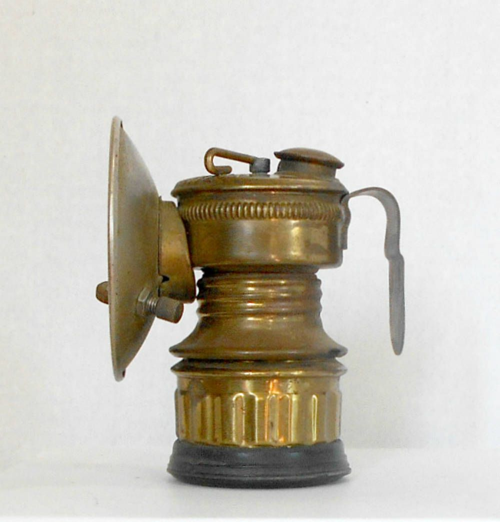Miners Helmet Dropper Light Guy Dropper Coal Miners Light Miners Helmet Lamp Coal Miners Light Brass Dropper Carbide Miner Lamp Old Lanterns Oil Lamps Gas Lamp