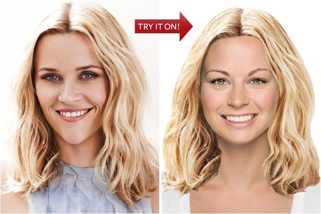 Hollywood Hair Virtual Makeover Try On Celebrity Hairstyles Online