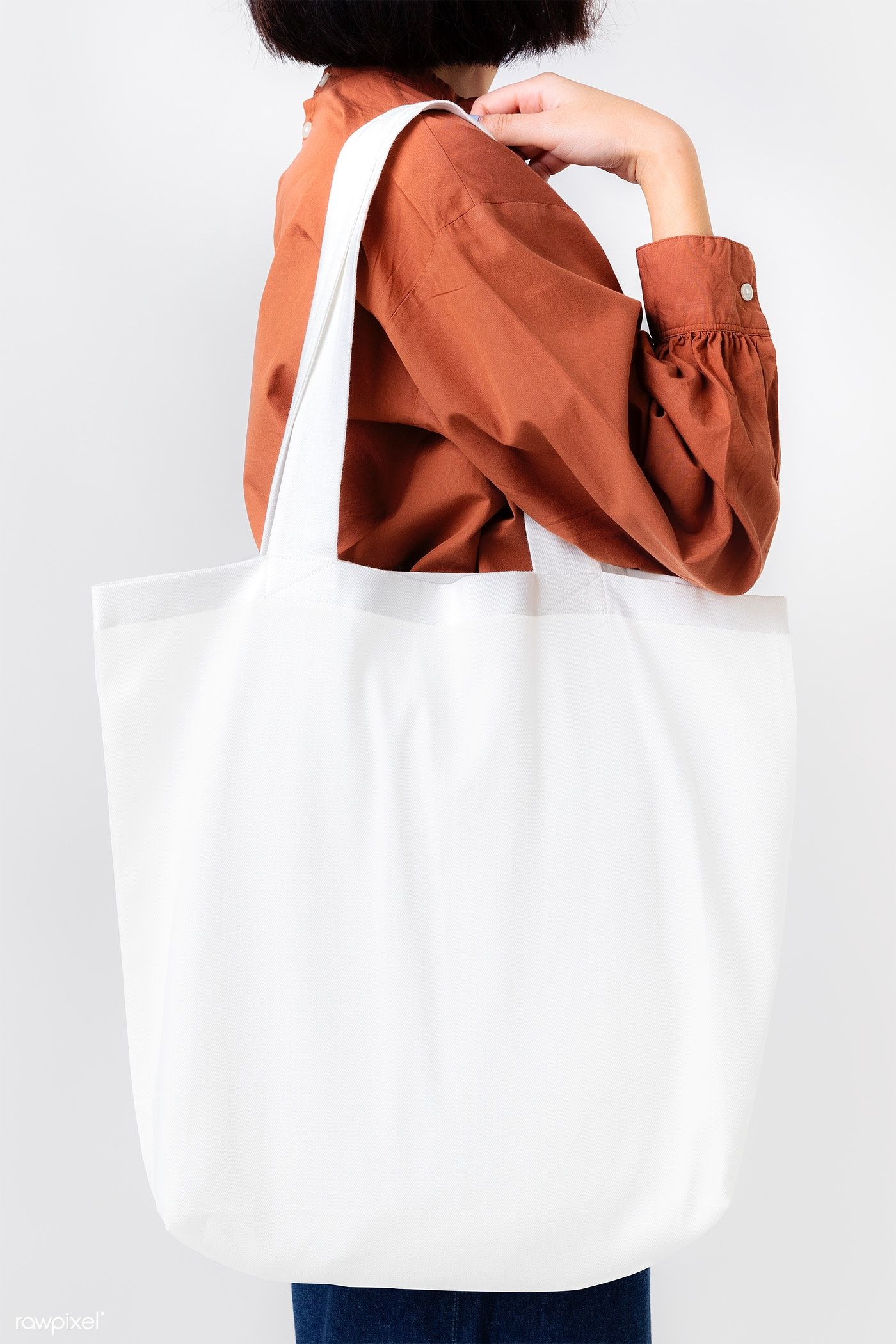 Download Premium Png Of Woman With A Tote Bag Transparent Png 2291613 Yellow Tote Bag Tote Bag Bags