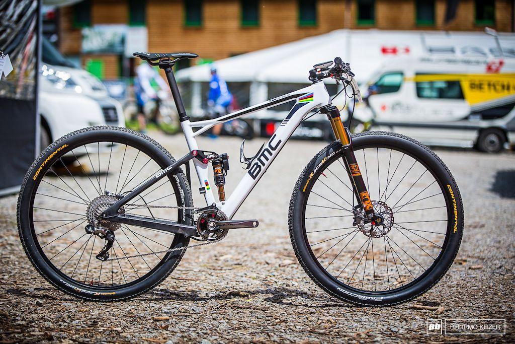 Bike Check Julien Absalon S Bmc Double Threat Nove Mesto World