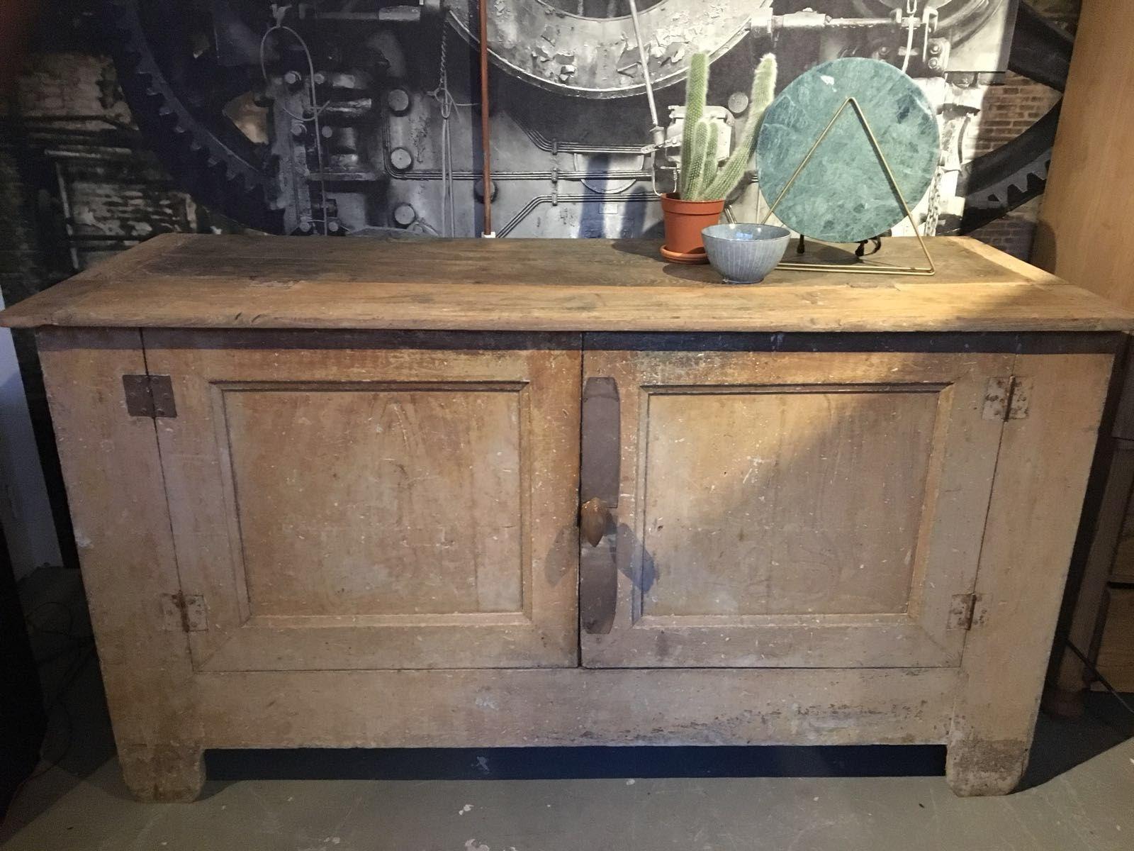 Oude Houten Kast : Oude houten kast vindustrial in 2018 pinterest vintage