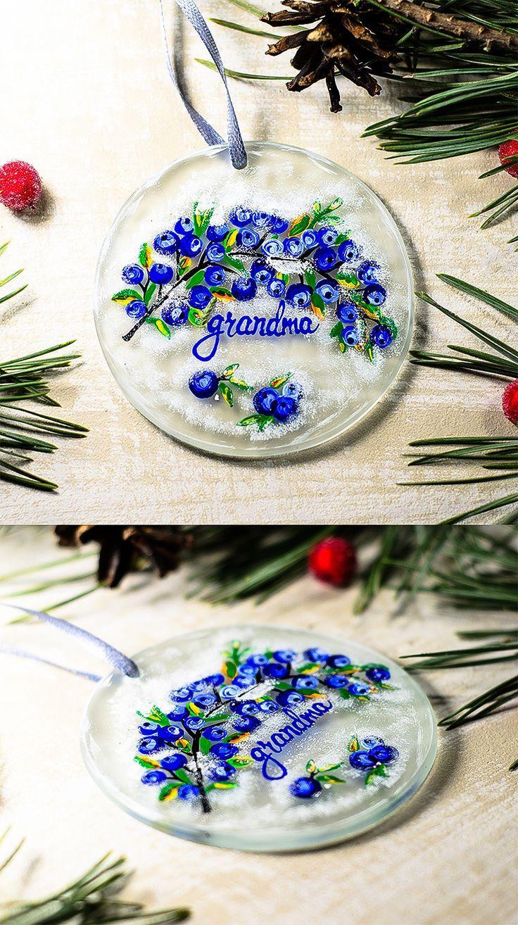Personalized Ornament Grandma Christmas Ornaments, Nana Grandmother ...