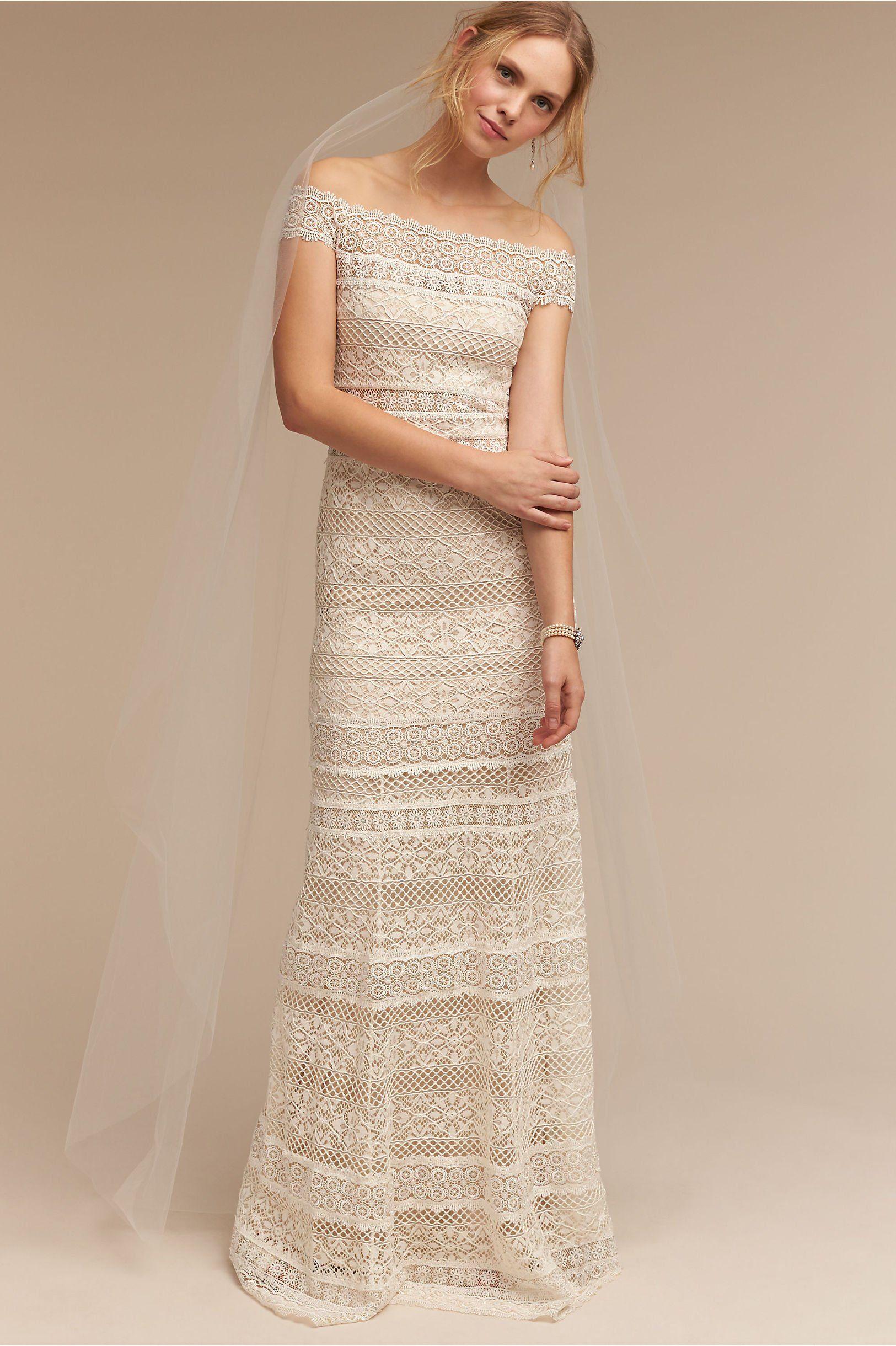 Affordable bohemian wedding dresses  BHLDNus Eira Gown  Affordable wedding dresses Gowns and Wedding dress