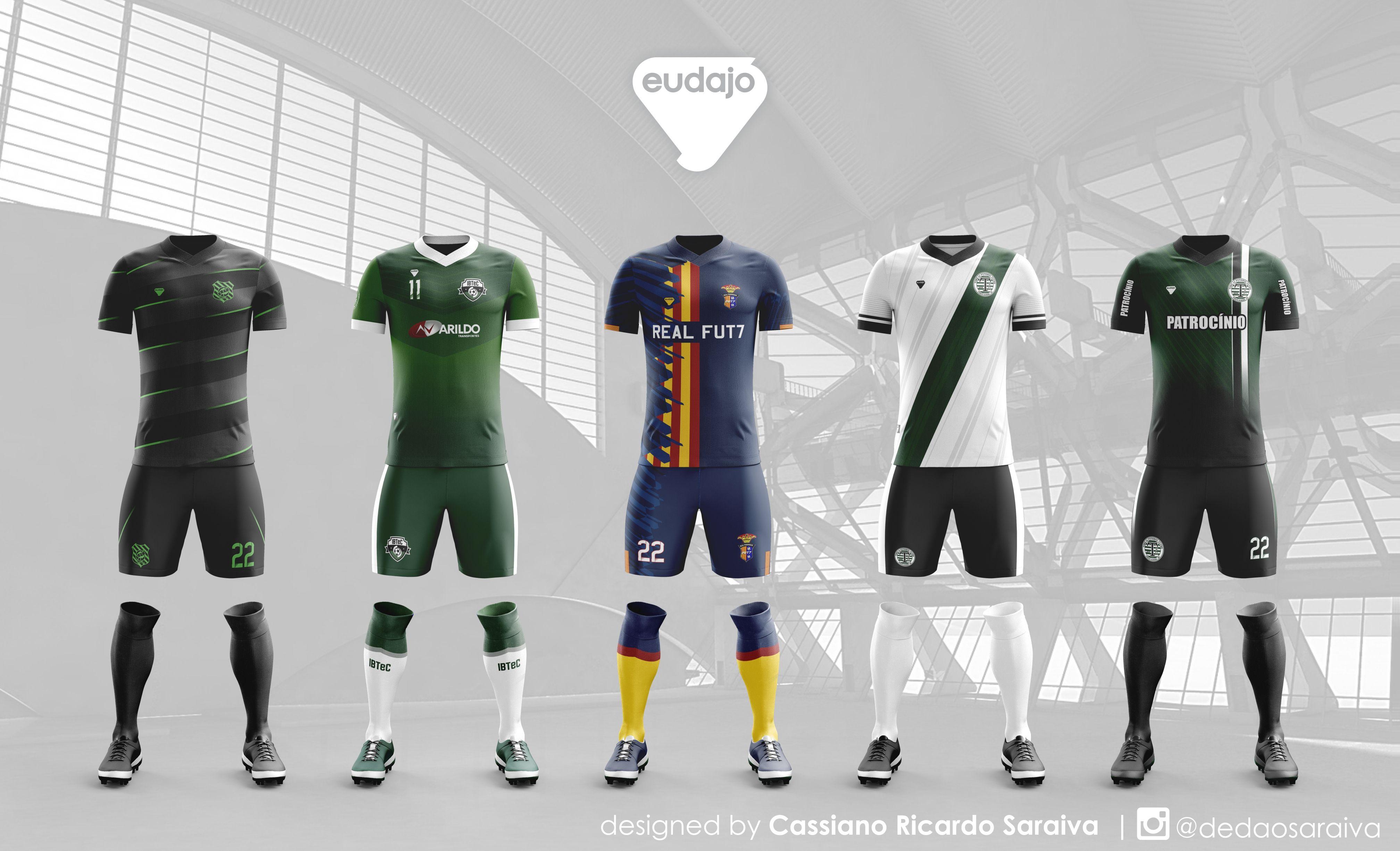 Modelos Criados Para Clubes De Futebol Amador Futebol Amador