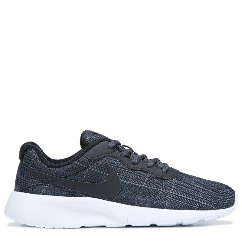 Nike Kids' Tanjun Running Shoe Grade School Shoes (Black/Cool Grey/Whit) - 3.5 M
