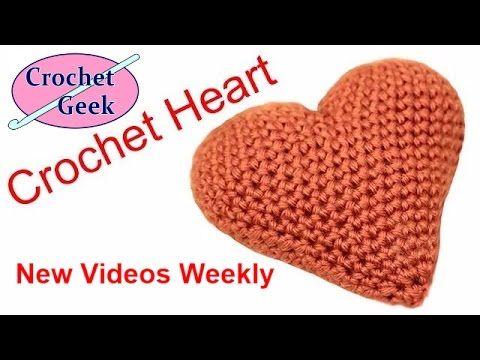 Tutorial Corazón Ganchillo | Crochet Técnica Amigurumi - YouTube