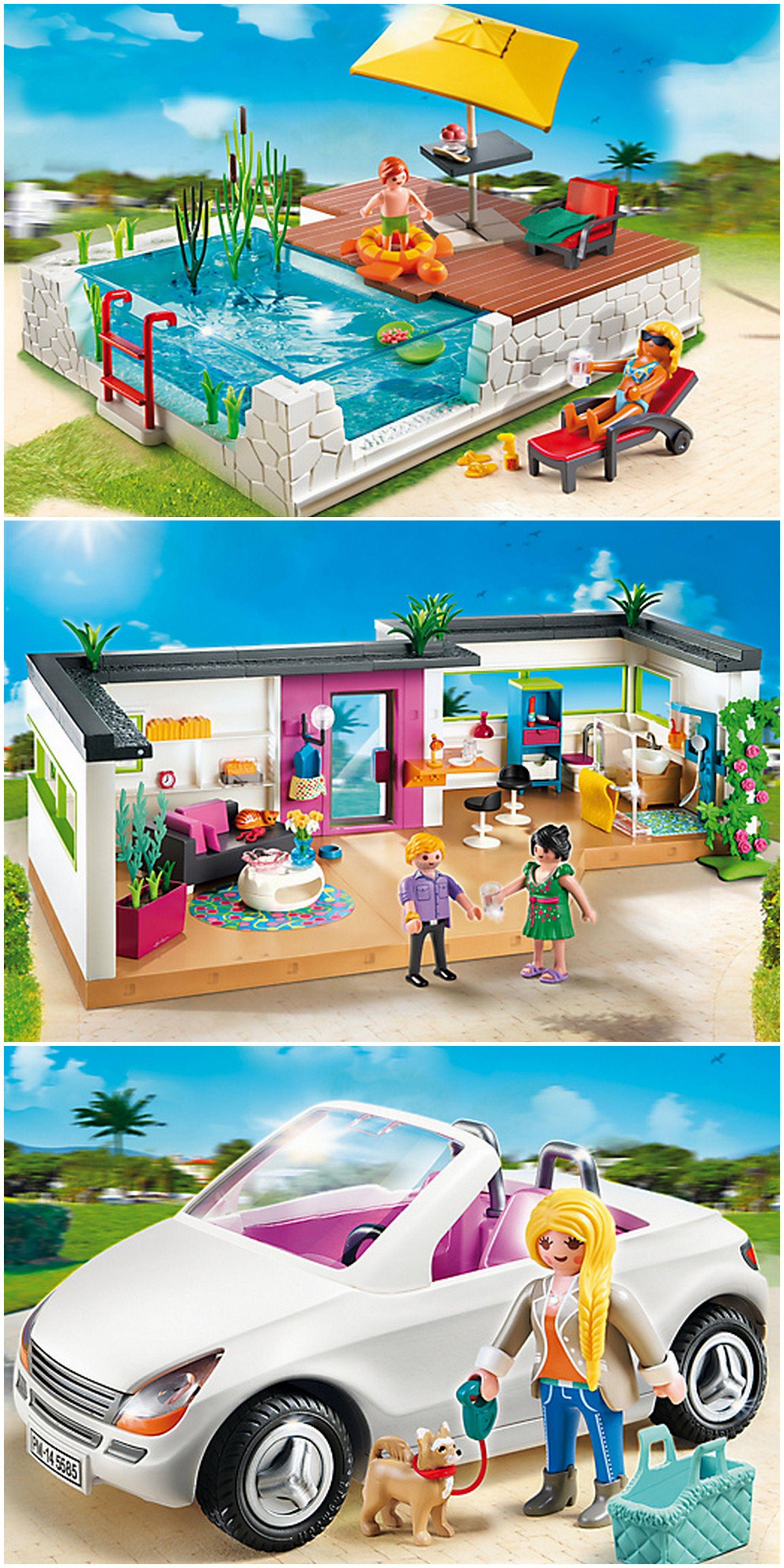 Piscina de lujo playmobil playmobil playmobil for Piscina playmobil