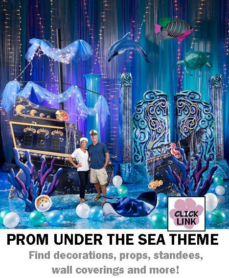 ccca463ed7b Buy Under the Sea themed decorations for proms