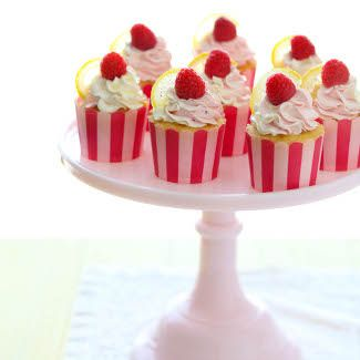 Lemon Raspberry Cupcakes « Go Bold with Butter