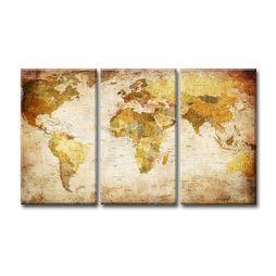 världskarta canvas ikea