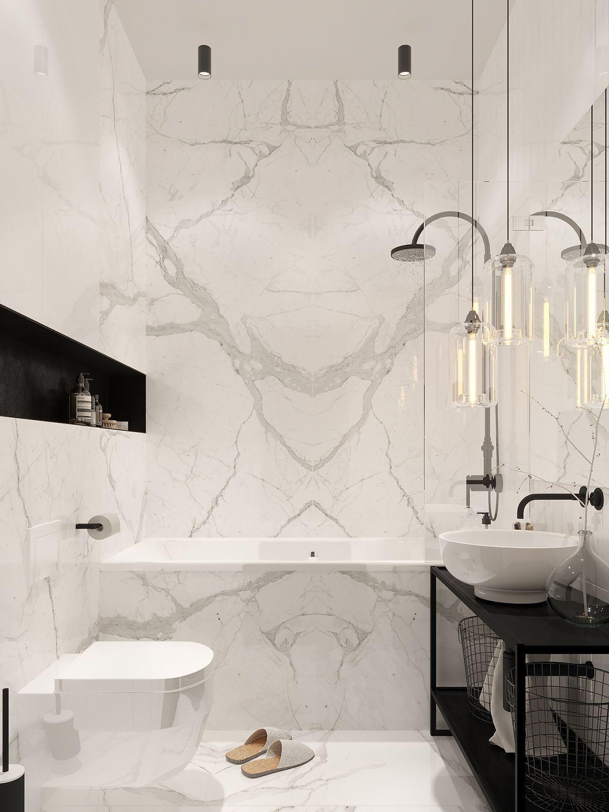 Salle De Bain Marbre De Carrare are you looking for a new bathroom decor? see some