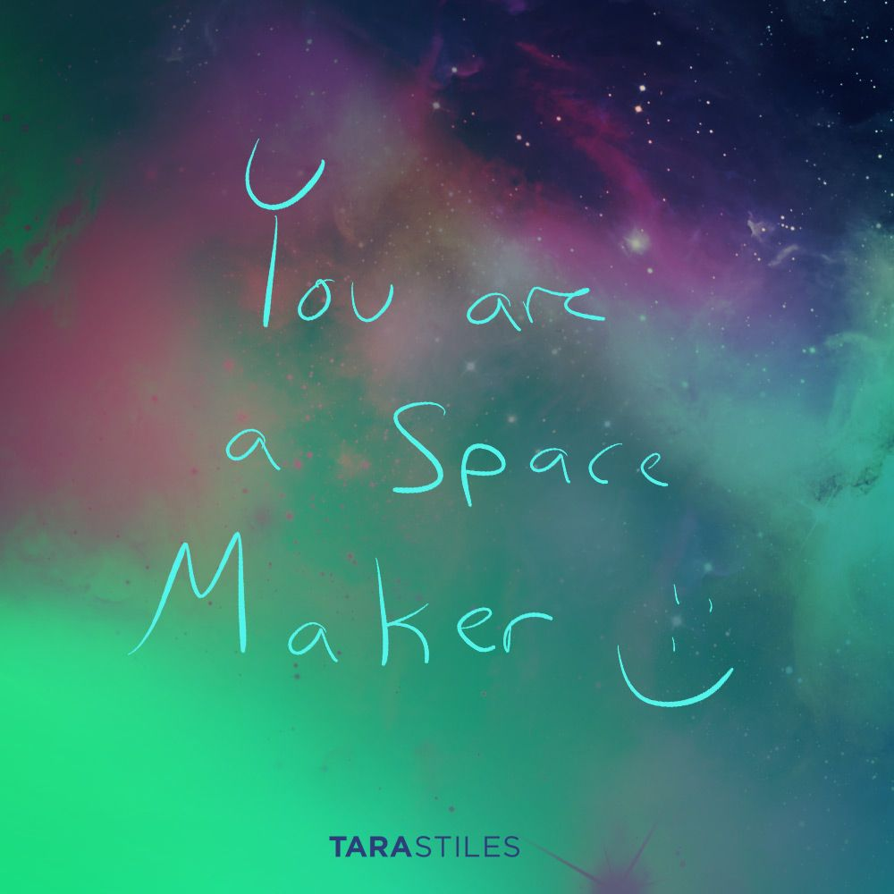 Quotes Maker Sharespiration 10  You Are A Space Maker  Reminders  Pinterest