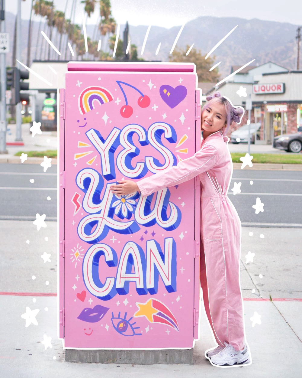 Utility Box Mural — Los Angeles Lettering Mural Ar