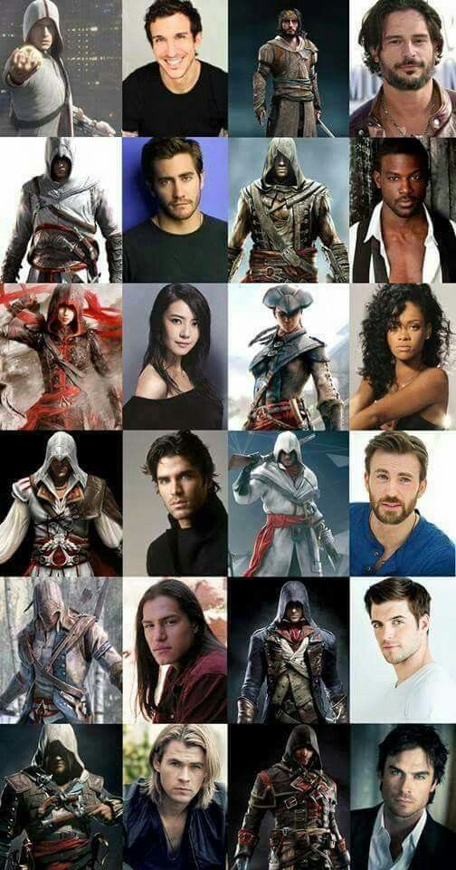 assassins creed 3 characters and voice actors