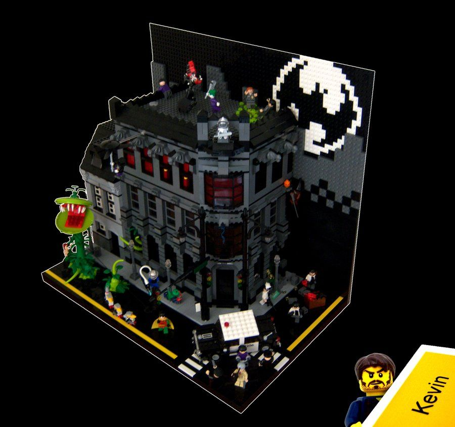 Batman Arkham Knight Batcave: LEGO- Batman Vignette By ~Kevinhink On DeviantART