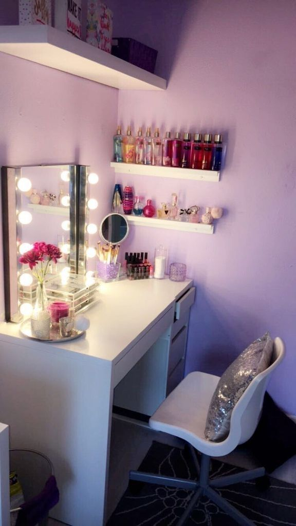 Photo of 38 Perfect Small Makeup Room Decoration with Feminine Color