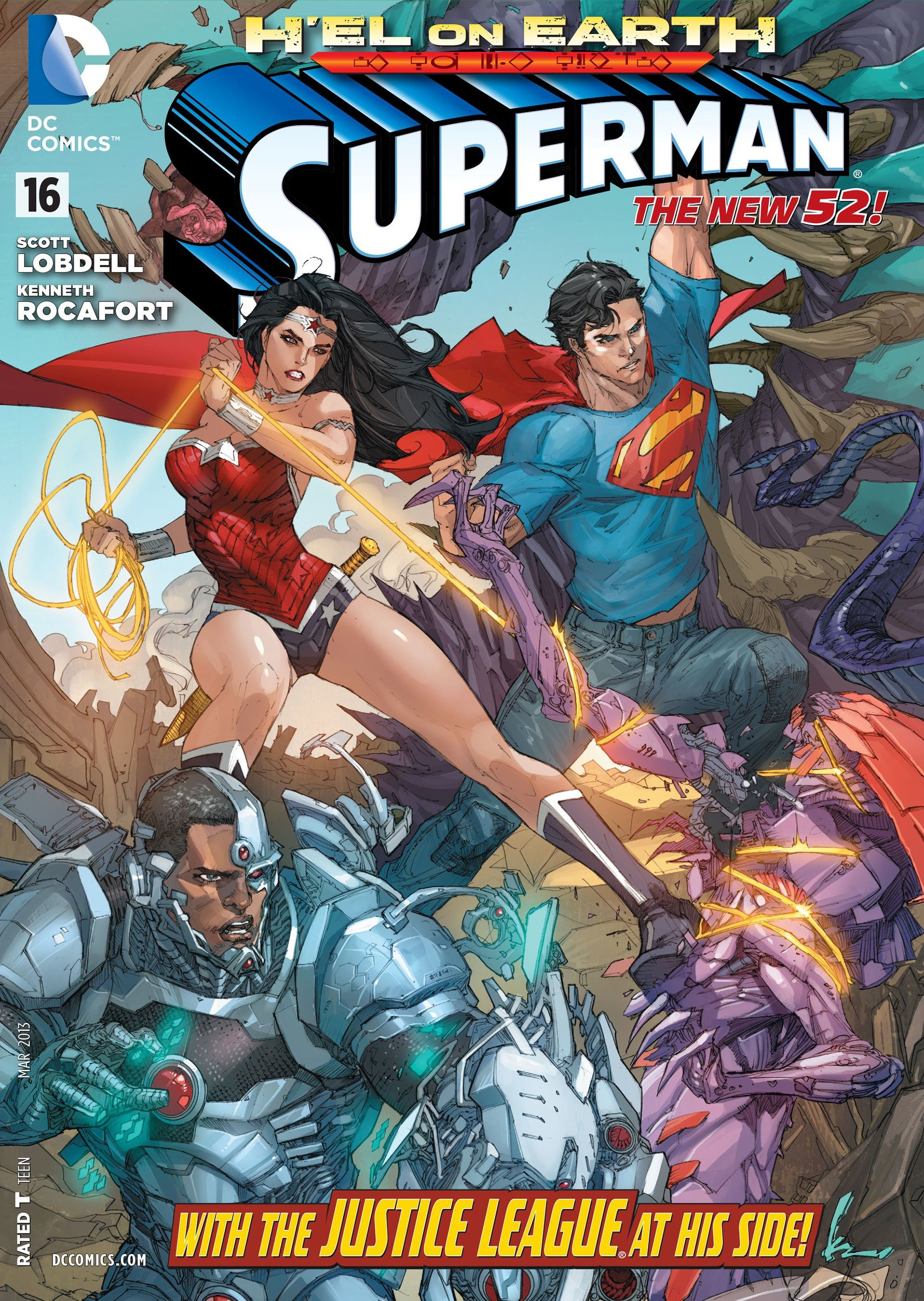 Superman Vol 3  16 - Cover Art By Kenneth Rocafort -5860