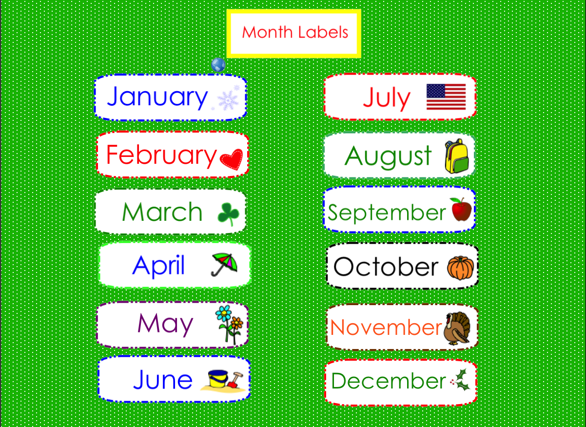 Calendar - Circle time smartboard (1 of 4)   Weather seasons, Smart ...