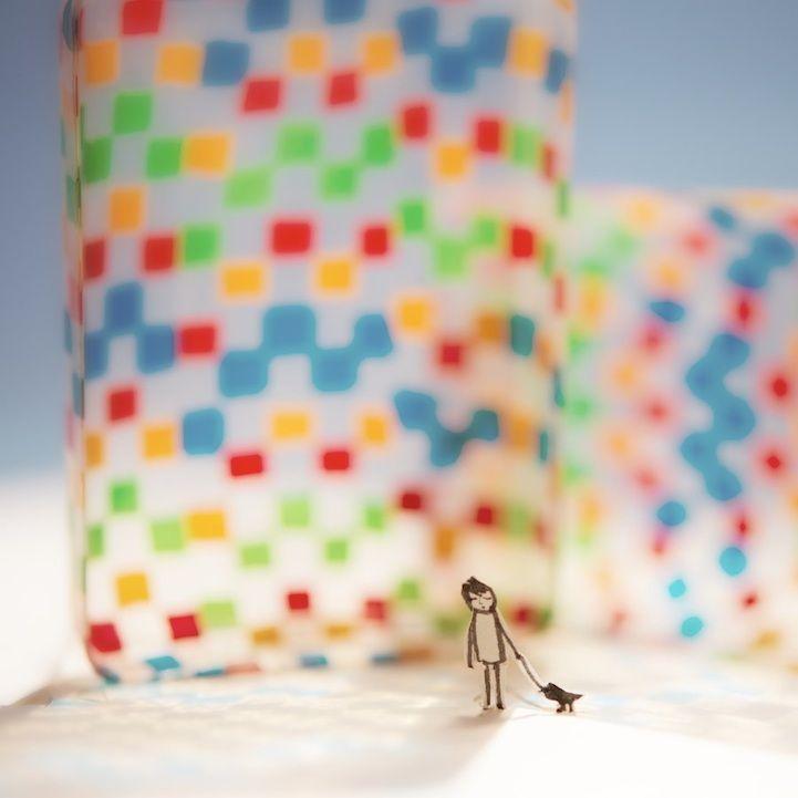 Adorable Paper Adventures by Kouichi Chiba