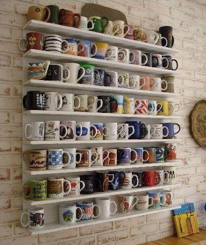 Cómo organizar las tazas en la cocina