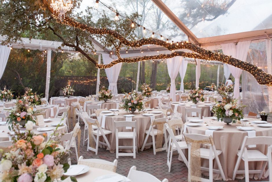 Allan House Austin Texas Wedding Venue Outdoor Table Decoration