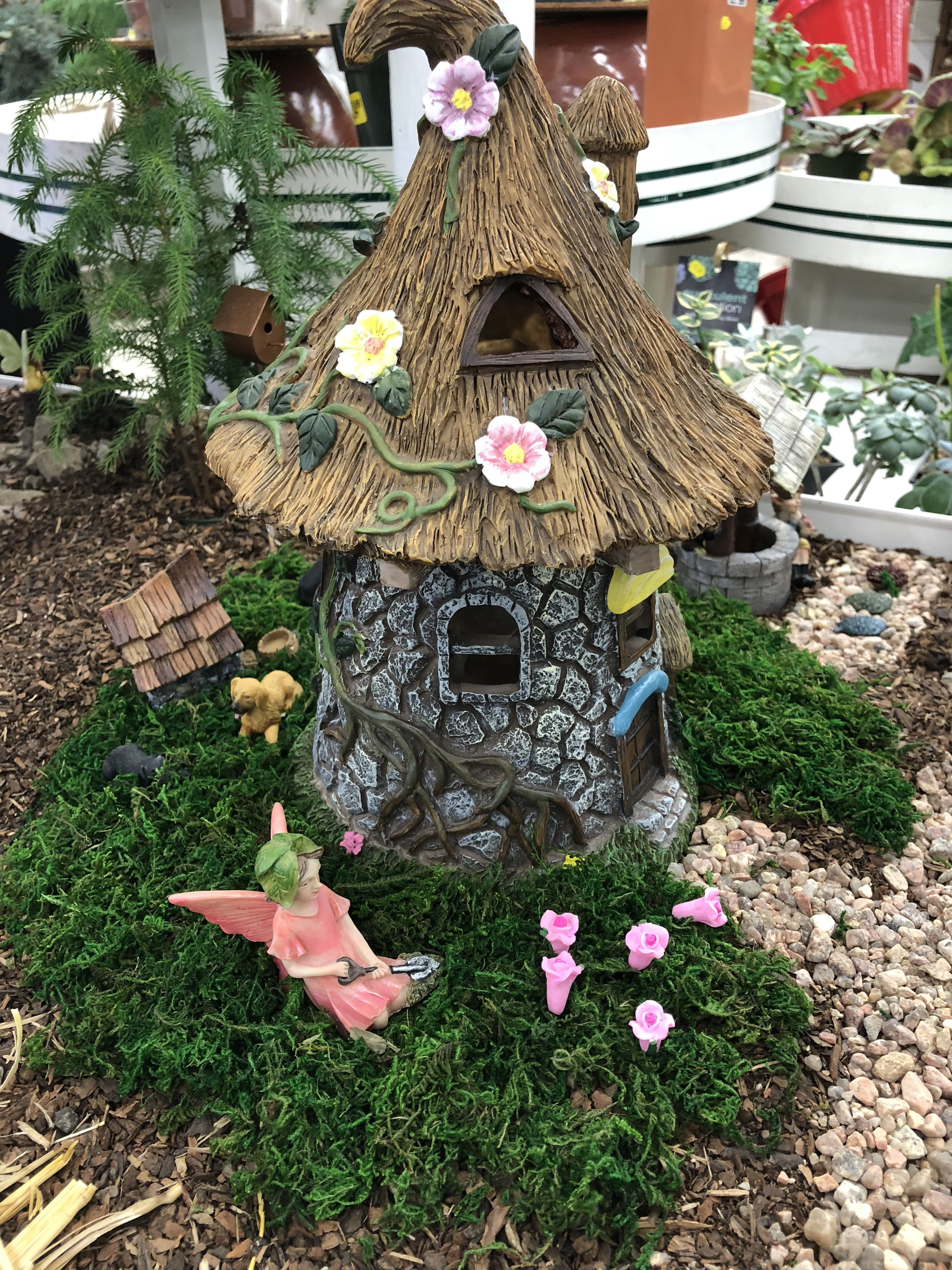 Fairy Garden At O Tooles Garden Center Miniature Fairy Gardens