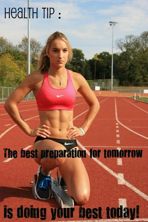 The best preparation for tomorrow is doing your best today. #healthtip #health  #fitness #fit #motivation #dailyroutine #lifestyle #wellness #determination #exercise http://paleoaholic.com/