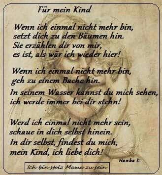 Gedicht Sprüche Sprüche Zitate Und Bewegende Sprüche