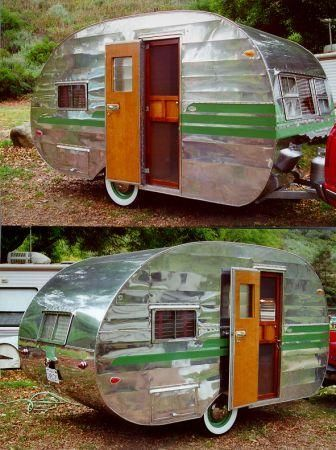 Canned Ham Trailers For Sale Yakaz For Sale Vintage Campers Trailers Vintage Camper Camper Trailers
