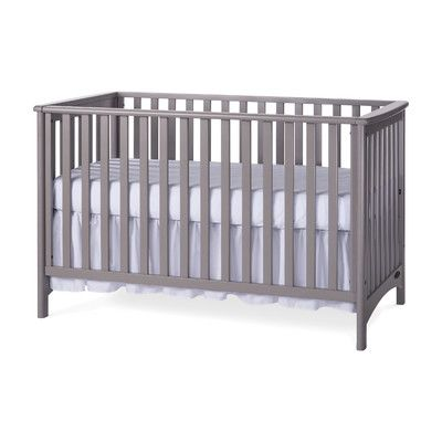 London 3 In 1 Convertible Crib Traditional Cribs Cribs