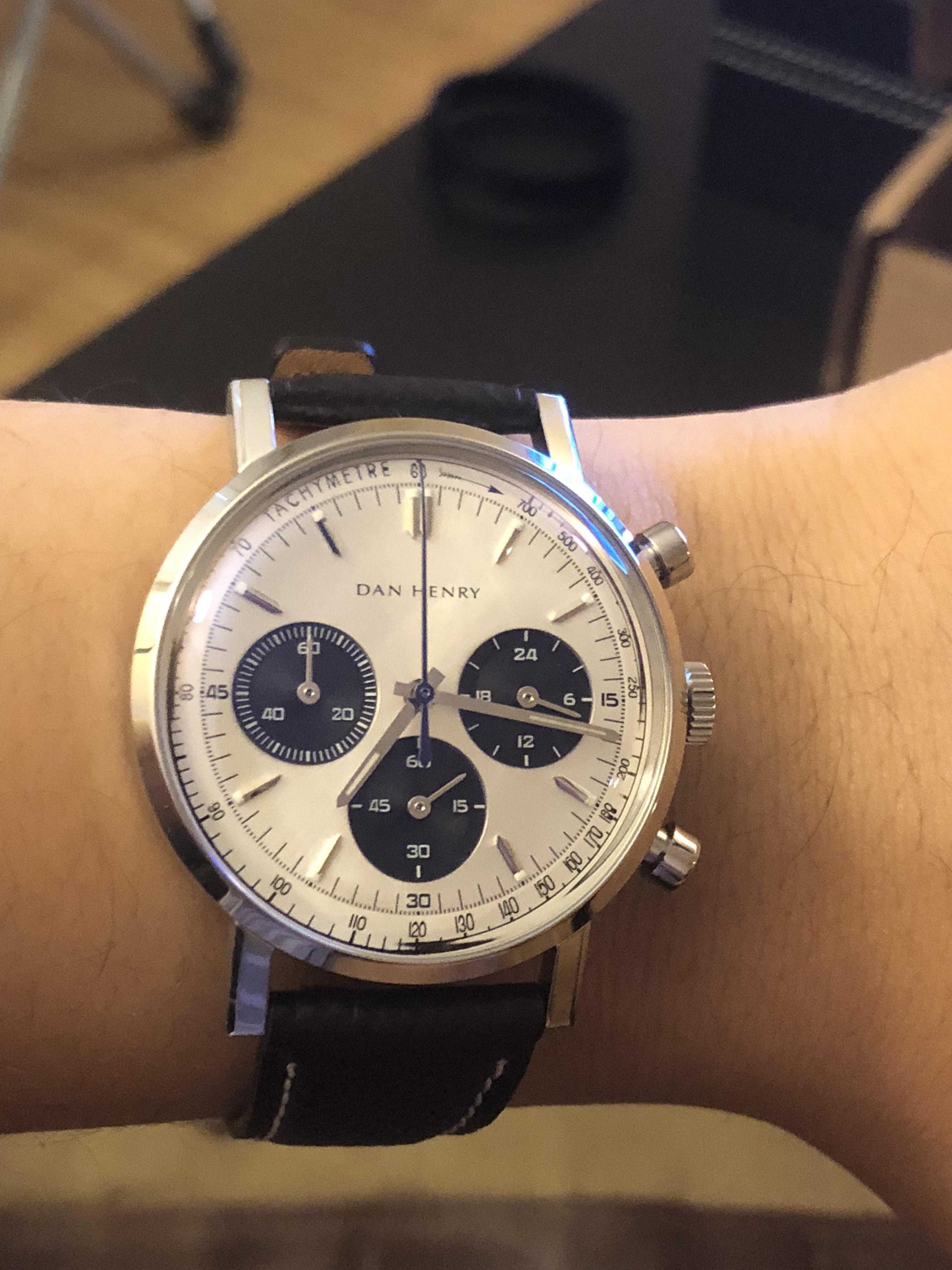 [Dan Henry] 1964 Panda No date Watches For Men, Panda, Around The