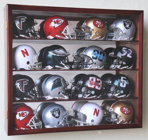 Gadgetpretty Com Display Case Mini Football Helmet Mini Footballs
