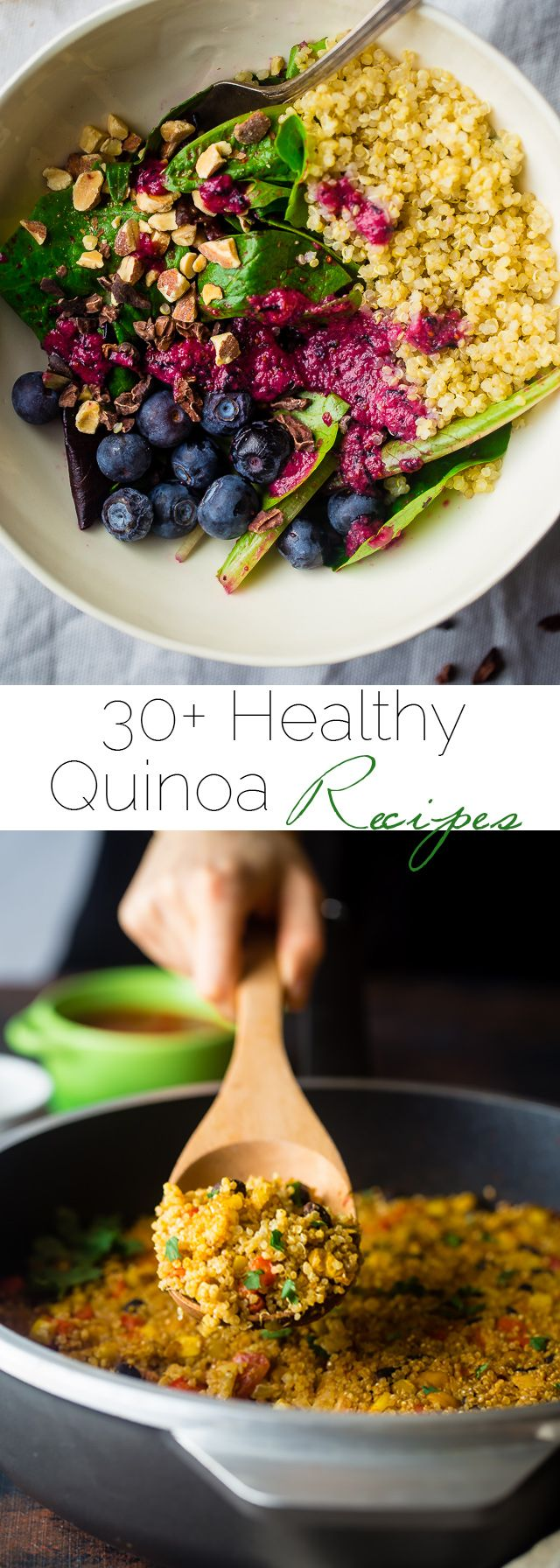 30+ Healthy Quinoa Recipes  - The best quinoa recipes that taste great and will lighten up your waistline! | Foodfaithfitness.com | @FoodFaithFit -   19 best quinoa recipes