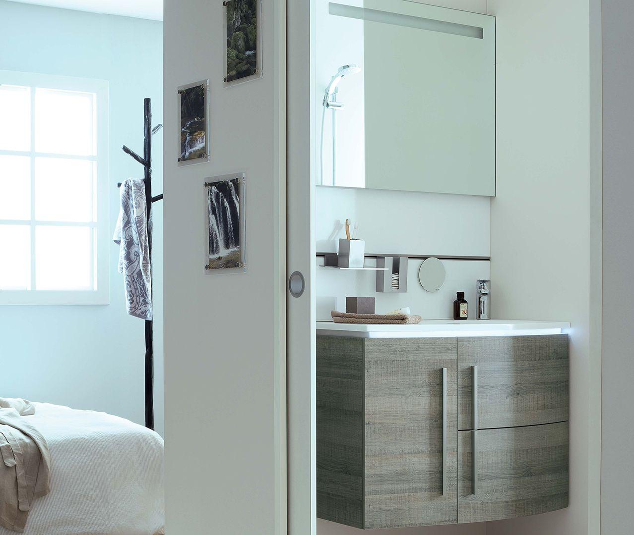 Conseil d co pour une petite salle de bain choisissez un meuble vasque suspendu avec des - Meuble vasque salle de bain original ...