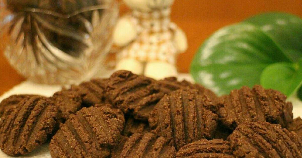 Resep 09 Coklat Almond Cookies Keto Oleh Ifani Devi Resep Resep Keto Coklat Keto