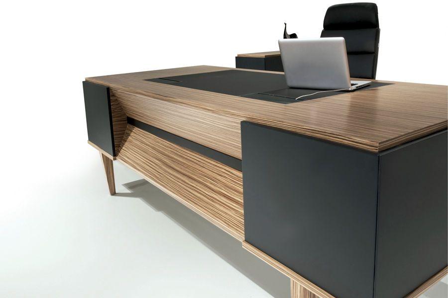 Schreibtischplatte holz  Tolle schreibtisch modern holz | Office in 2019 | Ofis tasarımları ...