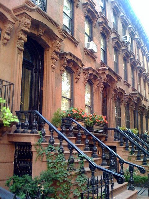 Brownstones | Brownstone homes, New york brownstone ...