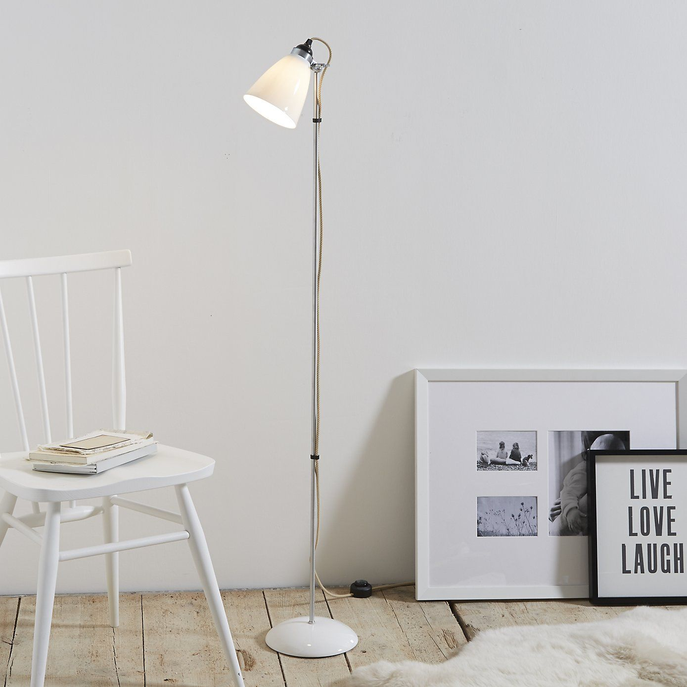 Original Btc Hector Floor Lamp White Company Floor Lamp And