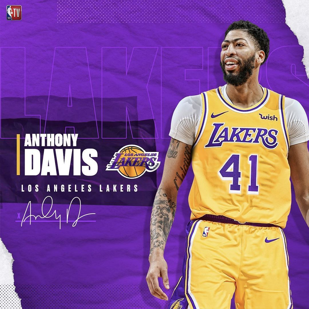Anthony Davis Is Reportedly Headed To The Lakers Anthony Davis Lakers Basketball Pictures