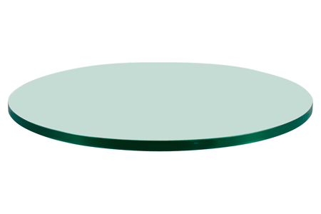 37 Round Glass Table Top 1 4 Thick Flat Polish Edge Tempered Glass Round Glass Table Top Round Glass Table Glass Top Table 36 round glass table top