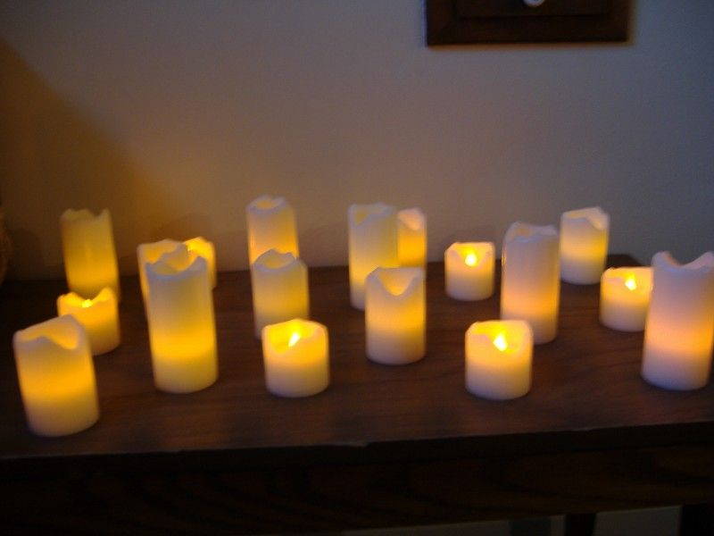 Led candles are a great home decor merchandise perfect for this diwali festival it s a blend of - The world of candles candles decoration ...